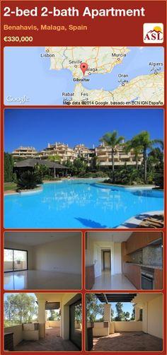 2-bed 2-bath Apartment in Benahavis, Malaga, Spain ►€330,000 #PropertyForSaleInSpain
