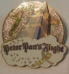 Disney-Trading-Pin-Disney-World-Collection-Peter-Pans-Flight-Collectible