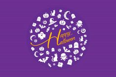 Happy Hallowen Kit by lisamoon on @creativemarket
