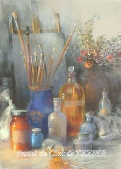 Pastel art - neat picture