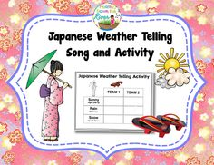 Floating Down the River: Japanese weather Telling Game Song