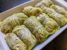 Cabbage Rolls Polish, Cabbage Rolls Recipe, Cabbage Recipes, Vegetarian Cabbage Rolls, Vegetarian Recipes, Keto Recipes, Dinner Recipes, Healthy Recipes, Polish Recipes