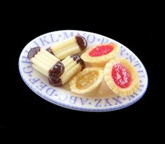 The English Kitchen Miniature Dollhouse Foods and Desserts For the Nursery