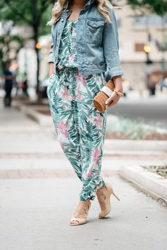 1000 Ideas About Printed Jumpsuit On Pinterest