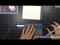 Stampin' Up! Tutorial - Quick Fix Quick Tricks - 01/04/2013 - Scraps & Stamps