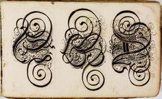 Kalligraphische Schriftvorlagen von Johann Hering zu Kulmbach - Johann Hering 1624-1634 (Bamberg) f