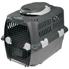 Dogit Design Cargo Dog Carrier 500 – Gray – Small – 68 cm L…