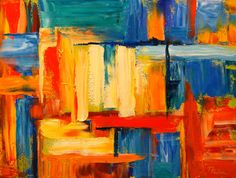 Her abstract paintingsare expressions of her love for color and design. Description from abstractartistgallery.org. I searched for this on bing.com/images