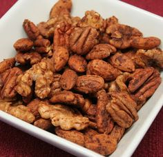 Try this filling Daniel Fast snack!       This recipe takes the wonderful flavor of nuts to a whole new level! You'll love the combination of a little sweetness and a tad bit of spice. A great snack for the Daniel Fast or any time you need a protein boost!