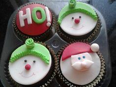 cupcakes de natal!