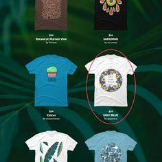 #shop my #design #ugh_blue as #part of the #dbh #botanical_collection! https://www.designbyhumans.com/shop/t-shirt/men/ugh-blue/282714/