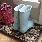 Make a Designer Inspired Dollar Store Boot Tray