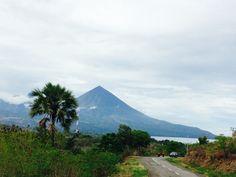 Strato vulcano mountain at Flores, Indonesia