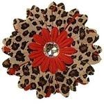 Red Cheetah Collar Bud