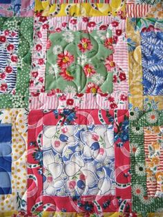 Spring Baby Quilt Lap Quilt Toddler Quilt by quiltymcquilterson