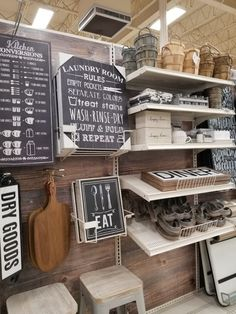 Farmhouse living room decor from Michael's is so cute! Farmhouse Homes, Farmhouse Style, Farmhouse Kitchens, Rustic Style, Farm Style Bathrooms, Rustic Bathrooms, Amazing Decor, Farmhouse Bedroom Decor, Cabinet Styles