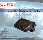 OLPRO Ceramic car heater and cooler for dashboards