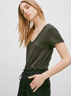Something for your everyday — a luxe tee with a perfected fit