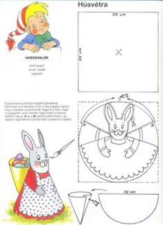 Húsvét :: Óvoda Easter Art, Easter Crafts, Easter Coloring Pages, Unicorn Crafts, Holiday Crafts For Kids, Holiday Crochet, Easter Printables, Holidays With Kids, Spring Crafts
