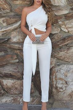 Elegant Outfit, Classy Dress, Classy Outfits, Stylish Outfits, Sexy Classy Style, All White Party Outfits, Summer Outfits, White Outfits For Women, White Fashion