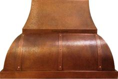 """Made To Order Copper Range Hood """"Toronto"""" Model Toronto is made available in custom size and delivery is free!  #mycustommade"""