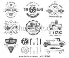 """Tiles Motorcycle Garage Free riders Ceramic Print 4.4x4.4/"""""""