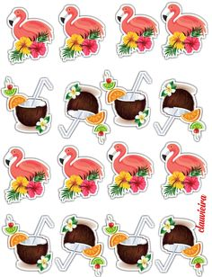 Com Best 12 Tropical – Birthday Party – – SkillOfKing. Pink Flamingo Party, Flamingo Decor, Flamingo Birthday, Hawaiian Luau Party, Tropical Party, 4th Birthday Parties, Birthday Party Decorations, Fiesta Theme Party, Alice In Wonderland Party