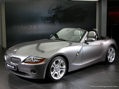 BMW Z4, got one for my 45th birthday, mine has a red interior to match my favorite purse at the time :-). I live in gratitude for all the blessings in my life.