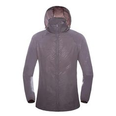 Women/Men Hooded Quick Dry Hiking Camping Outdoor Sport Breathable Thin Fishing Jackets
