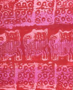 wheat paste batik