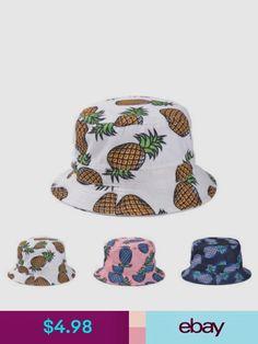 78eb7d73e93 Hats Cool Sun Outdoor Bucket Hat For Men Women Pineapple Fashionable Bucket  Hat Cute