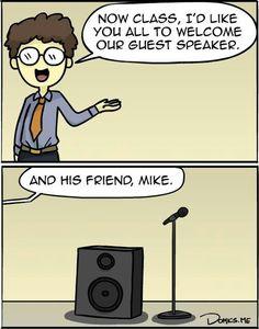 Nada como morirse de la risa con un mal chiste! Lol!