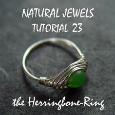 Image detail for -WIRE WRAPPING TUTORIAL 23 The Herringbone Ring by NaturalJewels