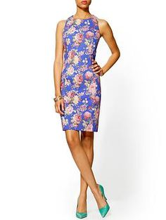 Cute: Pim + Larkin Floral Sheath Dress   Piperlime Now just have to find a pattern to make a knockoff