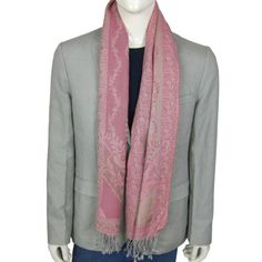 Indian Clothes Neck Scarves for Men Wool Fabric (Pink & Tan) ShalinIndia,http://www.amazon.com/dp/B005YZDTEK/ref=cm_sw_r_pi_dp_61aZqb11153M9ZNF