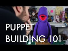 Adam Savage is a HUGE fan of puppets. And so a very special One Day Build was conceived when Rick Lyon, creator of the puppets for the Tony award-winning mus. Puppetry Theatre, Puppetry Arts, Cardboard Mask, Puppet Tutorial, Puppets For Kids, Diy Crafts How To Make, Puppet Patterns, Marionette Puppet, Puppet Crafts