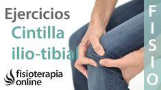 ¿Cómo tratar la tendinitis de la cintilla ilio-tibial o fascial lata? Ej... Studio Pilates, Pilates Mat, Fascia Lata, Tendinitis, Physiology, Massage Therapy, Exercise, Health, Sport