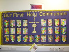 first holy communion art displays - Google Search