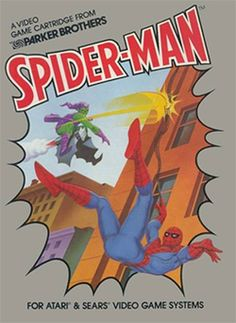 Spider-Man video game for the Atari 2600. (1982)