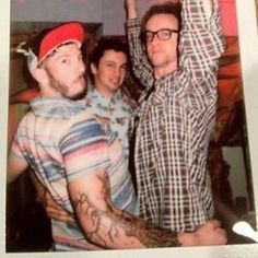Josh's tattoo isn't finished// woooaahhh it looks so different without the colors
