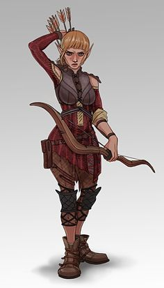 Dragon Age Inquisition: Sera by felitomkinson