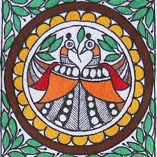 madhubani paintings peacock - Google Search