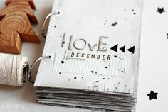 Picture This:  Instagram Prints, Mini Journal Entries Of How Awesome A Day Was, A Receipt From A Sought After Gift, Pretty Wrapping Paper Swatches... The Possibilities Are Endless