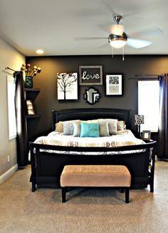 His And Hers Bedroom | Cozy And Elegant Master Bedroom Idea Bedroom Decor Pinterest