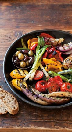 Antipasto Grill | This image alone inspires me to jump on the grill with a ton of veggies - No recipe required