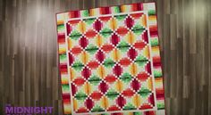 Using One Of Our Favorite Blocks, She Was Able To Make This Stunning Quilt!