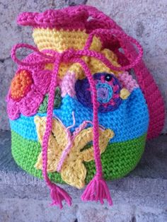 Crochet Bag For Kids : girl s crochet bag more crochet macrame crochet shoes crochet bags ...