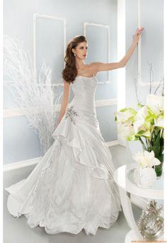 Vestido de novia Cosmobella 7677 2014