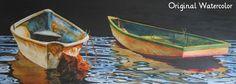 Harry Thompson, Watercolor - Ocean Books & Art