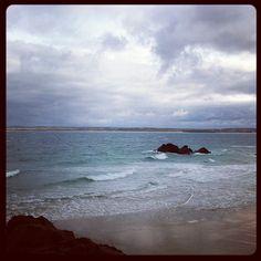 Cornish beaches on rainy days